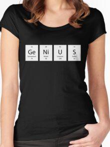 ElemenTees: GeNiUS Women's Fitted Scoop T-Shirt