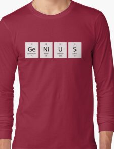 ElemenTees: GeNiUS Long Sleeve T-Shirt