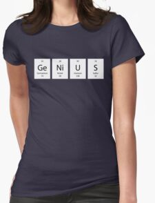 ElemenTees: GeNiUS Womens Fitted T-Shirt