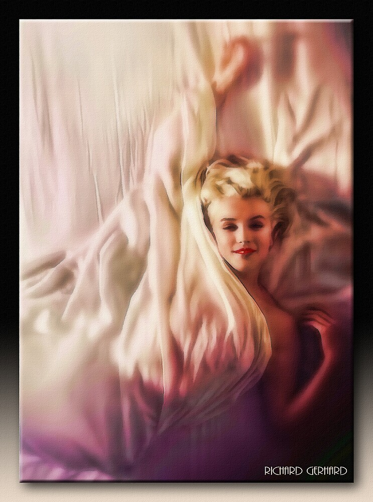 Marlyin Monroe by Richard  Gerhard