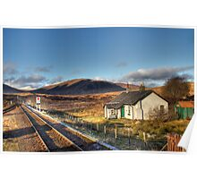 The View From Rannoch Station Poster