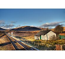The View From Rannoch Station Photographic Print