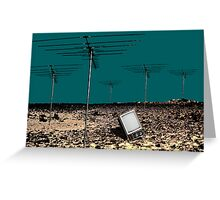 TV is Dead Greeting Card