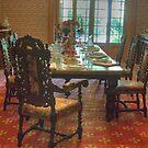 The Dining Room, Vaucluse House, Sydney by Adrian Paul