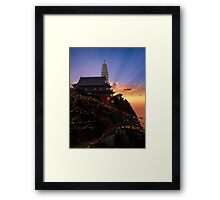 Dawn on Chicken's Foot Mountain Framed Print