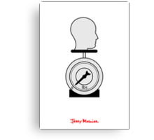 Jerry Maguire - Minimal Poster Canvas Print
