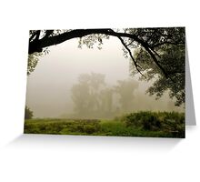 Early Morning Light Landscape Greeting Card