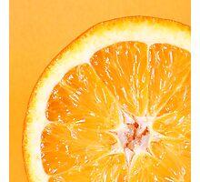 Orange 2 Photographic Print