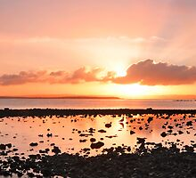 Summer's Last Sunrise - Cleveland Qld Australia by Beth  Wode