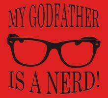 My Godfather Is A Nerd Baby Tee