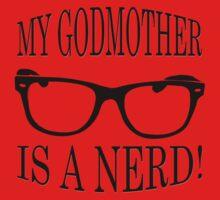 My Godmother Is A Nerd Baby Tee