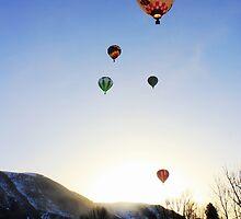Winthrop Balloon Festival II by Debbie Roelle