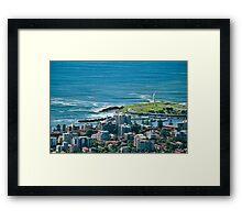Wollongong City Framed Print