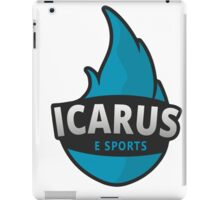Icarus Logo iPad Case/Skin