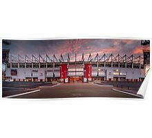 The Riverside Stadium, Middlesbrough Poster