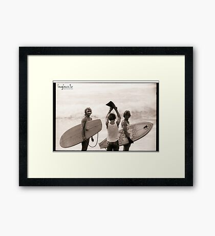 The Boys Framed Print