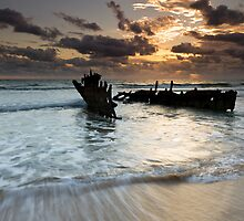 """Shipwrecked"" ∞ Caloundra, QLD - Australia by Jason Asher"