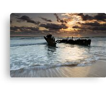 """Shipwrecked"" ∞ Caloundra, QLD - Australia Canvas Print"