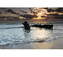 """Shipwrecked"" ∞ Caloundra, QLD - Australia Photographic Print"