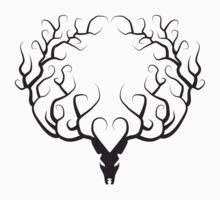 STAG SILHOUETTE by Vanessa Lauder