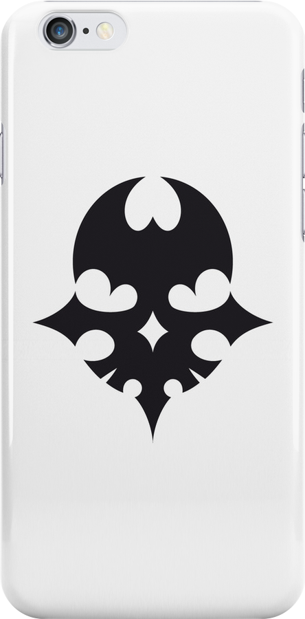 The world ends with you iPhone/iPod Case WHITE by Robin Kenobi
