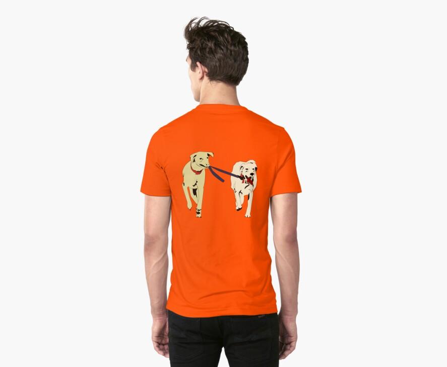 2 dog running by 2piu2design