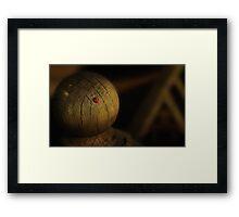 A Host Of Golden Photons Framed Print
