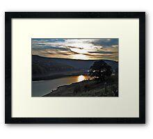 Sunset over Ladybower Framed Print