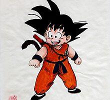 Son Goku by Wieslaw Borkowski Jr.
