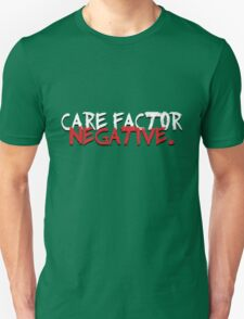 Care Factor: Negative T-Shirt