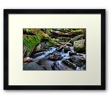 Fast Water Framed Print