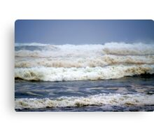 Waves in the Wind Canvas Print