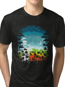 Rainforest city Tri-blend T-Shirt