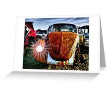 4No 308 ~ 69 VW Greeting Card