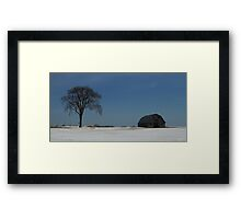 This old tree - Pakenham, Ontario Framed Print
