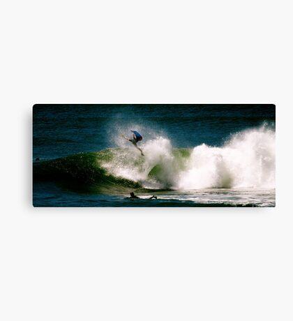 Big Invert at Shark Island Canvas Print