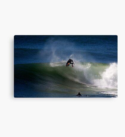 Ben Player Back Flip Shark Island Canvas Print
