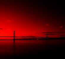 forth road bridge by TheLostArt