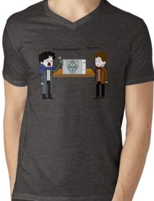Experiment Mens V-Neck T-Shirt