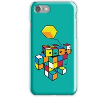 CUBE WITH A CUBE iPhone Case/Skin