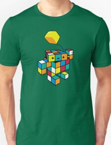 CUBE WITH A CUBE Unisex T-Shirt