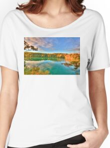 Pink Lake Reflections Women's Relaxed Fit T-Shirt