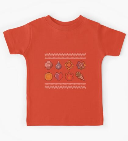 Ash and cross-stitch Kids Tee