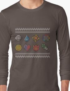 Ash and cross-stitch Long Sleeve T-Shirt
