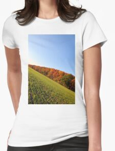 Autumn Alley Womens Fitted T-Shirt