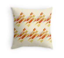 Hunting for turkeys Throw Pillow