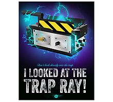 Ghostbusters - Trap - Cinema Obscura Collection Photographic Print