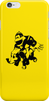 Chunky Kong iPhone by Phatcat