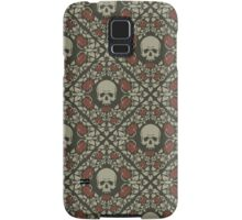 Skulls and roses Samsung Galaxy Case/Skin