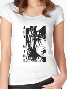 Jet Girl Women's Fitted Scoop T-Shirt